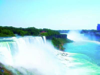 Photograph - Celestial Skies Niagara Falls 4 by Aimee L Maher Photography and Art Visit ALMGallerydotcom