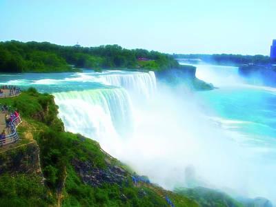 Photograph - Celestial Skies Niagara Falls by Aimee L Maher Photography and Art Visit ALMGallerydotcom