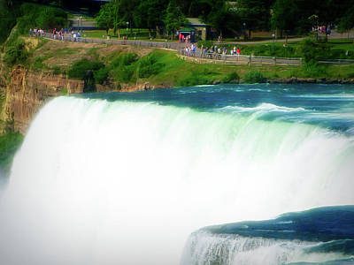 Photograph - Celestial Skies Niagara Fals 10 by Aimee L Maher Photography and Art Visit ALMGallerydotcom
