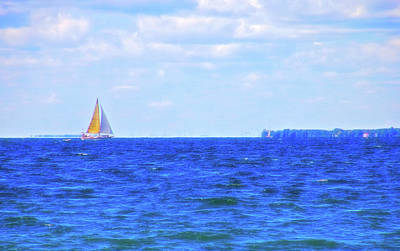 Photograph - Celestial Skies Sailing The Blue by Aimee L Maher Photography and Art Visit ALMGallerydotcom