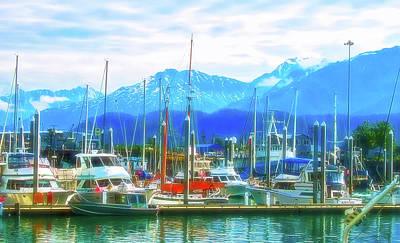 Photograph - Celestial Skies Seward Alaska 2 by Aimee L Maher ALM GALLERY