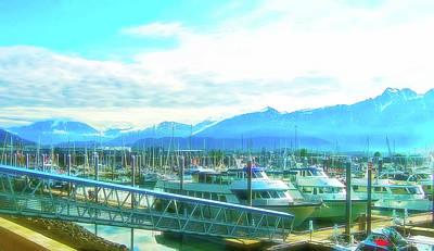 Photograph - Celestial Skies Seward Alaska by Aimee L Maher ALM GALLERY