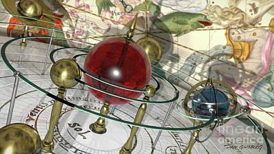 Digital Art - Celestial Sphere by Dave Ginsberg
