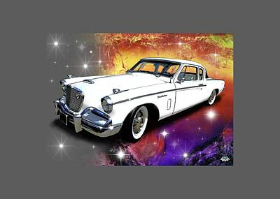 Digital Art - Celestial Studebaker by Richard Mordecki