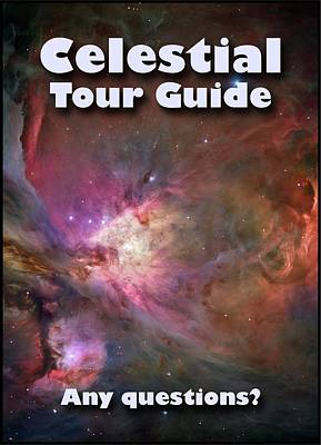Photograph - Celestial Tour Guide by Jonathan Sabin
