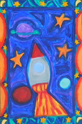 Celestial Travel Original by Elizabeth Dawson