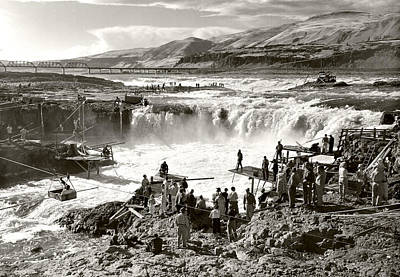Celilo Falls Art Print by Unknown