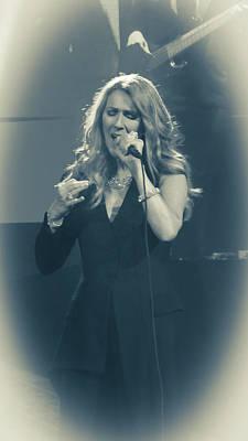 Celine Dion Photograph - Celine Dion Encore Un Soir No 2 by Luisa Gatti
