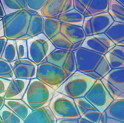 Cell Abstract 13 Art Print by Edward Fielding