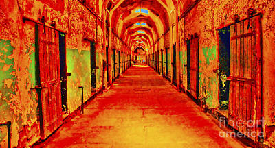 Photograph - Cell Block 13 by Paul W Faust - Impressions of Light