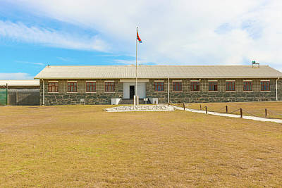 Photograph - Cell Block On Robben Island Off The Coast Of Cape Town, Western  by Marek Poplawski