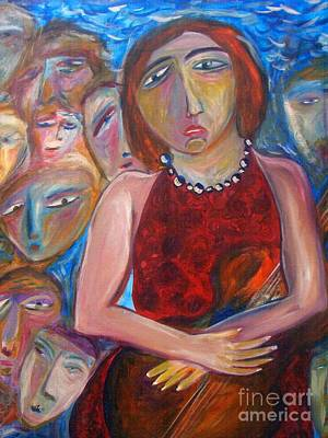 Painting - Cellist by Michaela Kraemer