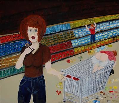 Painting - Cellphone by Charla Van Vlack