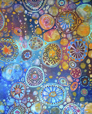 Painting - Cellular Fantasy I by Anne Havard