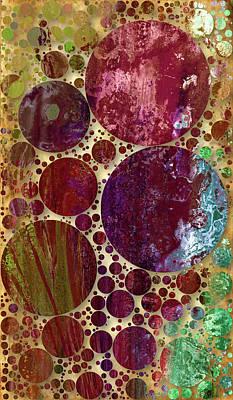 Cellular Intimacy Decorative Abstract Art Print