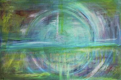 Painting - Celtic Vision  #2  by Carrie Godwin