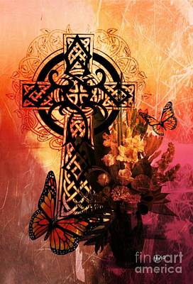 Digital Art - Celtic Art 1 by Maria Urso