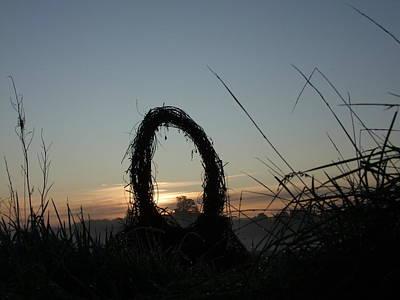 Welsh Goddess Photograph - Celtic Circle Dawn-07 by Pat Bullen-Whatling