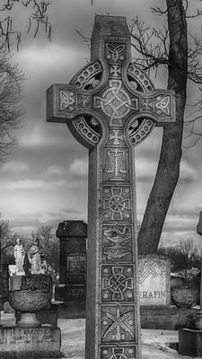 Photograph - Celtic Cross 4515 by Guy Whiteley