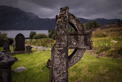 Photograph - Celtic Cross by Avril Christophe