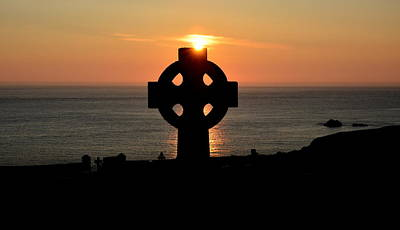 Photograph - Celtic Cross by Barbara Walsh