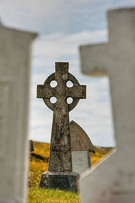 Photograph - Celtic Cross by Colette Panaioti