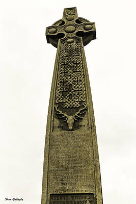 Photograph - Celtic Cross by Fran Gallogly