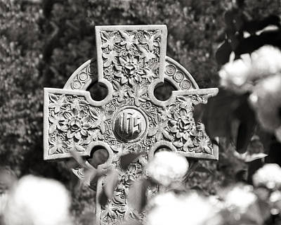Religious Photograph - Celtic Cross I by Tom Mc Nemar