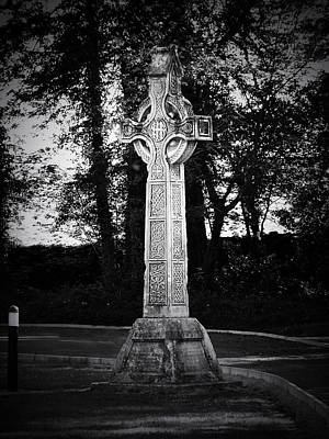 Celtic Cross In Killarney Ireland Art Print