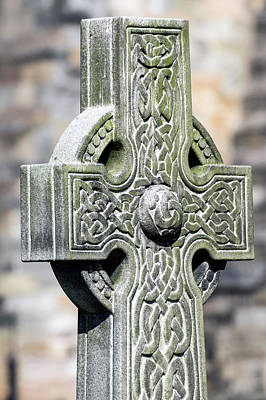 Photograph - Celtic Cross by Ross G Strachan
