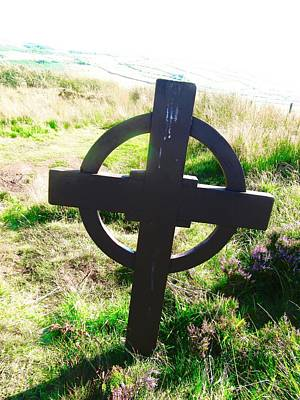 Photograph - Celtic Cross by Stephanie Moore