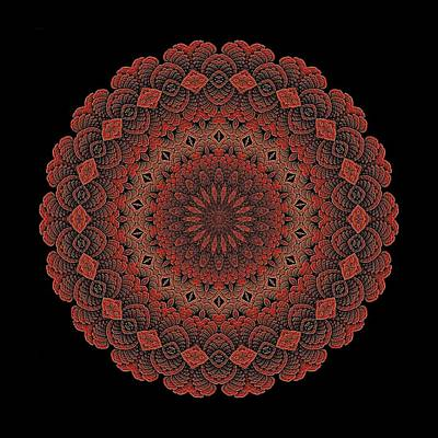 Digital Art - Celtic Doily by Doug Morgan