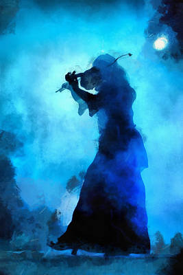 Folk Music Photograph - Celtic Folk by Matteo Zonta