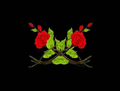 Belinda Landtroop Royalty-Free and Rights-Managed Images - Celtic Rose by Belinda Landtroop