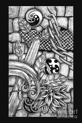 Drawing - Celtic Surreality by Kristen Fox