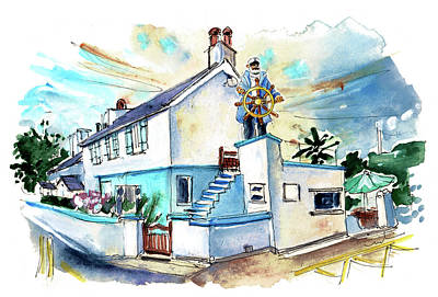 Painting - Cemaes Bay 01 by Miki De Goodaboom