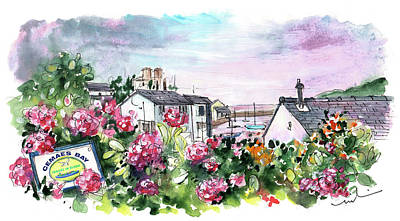 Painting - Cemaes Bay 02 by Miki De Goodaboom