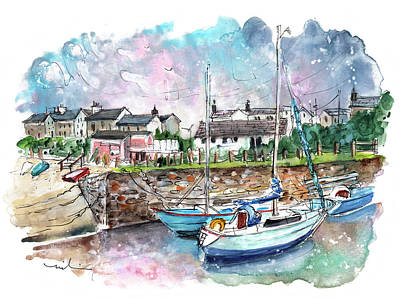 Painting - Cemaes Bay 11 by Miki De Goodaboom