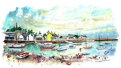 Painting - Cemaes Bay 12 by Miki De Goodaboom