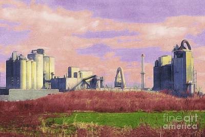 Photograph - Cement Industry by Marcia Lee Jones