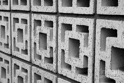 Photograph - Cement Wall 2 by E B Schmidt