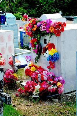 Photograph - Cementerio 3 by Douglas Pike