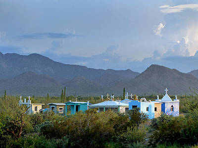Photograph - Cementerio Baja Sur 7 by Jeff Brunton