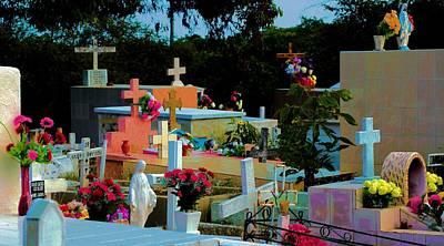 Photograph - Cementerio San Carlos  4 by Douglas Pike