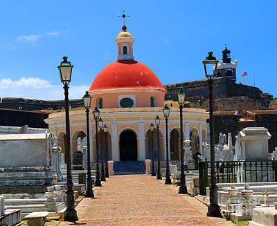 Photograph - Cementerio Santa Maria Magdalena De Pazzis  Historic Cemetery by Steven Spak