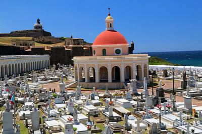 Photograph - Cementerio Santa Maria Magdalena De Pazzis by Steven Spak