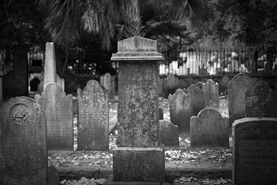 Interior Design Photograph - Cemeteries Of Charleston by J Darrell Hutto
