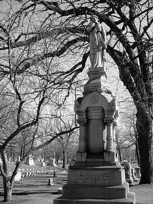 Photograph - Cemetery 1 by Anita Burgermeister