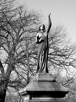 Photograph - Cemetery 6 by Anita Burgermeister