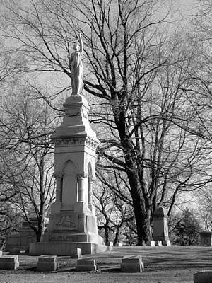 Photograph - Cemetery 9 by Anita Burgermeister